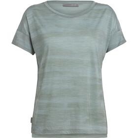 Icebreaker Via Scoop T-Shirt Femme, shale